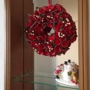 玄関インテリアをクリスマス仕様に♪今年もやっぱりニトリ多めのインテリア!