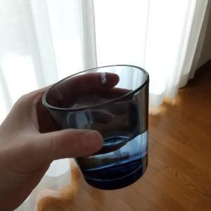 念願のiittalaカルティオを初購入♪光の加減で魅力が倍増するステキなグラスにウットリ♡