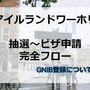 アイルランドワーホリ、ビザ申請からGNIB取得までの完全フロー