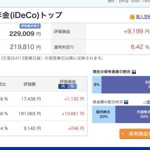 【資産運用】2020.07.27現在のiDeCo運用成績&手続きのオンライン化(2021年)について