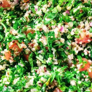 パセリサラダ+キヌア=キヌアタブーリのレシピ