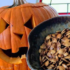 ヘルシースナック・かぼちゃの種のローストのレシピ