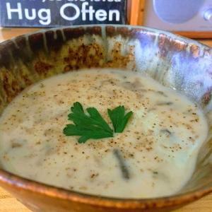 とろとろクリーミー・森のキノコスープのレシピ