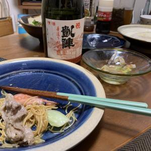 「悦凱陣 手作り純米」×「皿うどん」