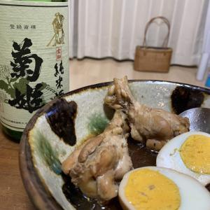 「菊姫 金劔」×「鶏手羽元のさっぱり煮」