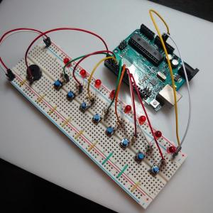 【Arduinoで電子工作-2】Arduinoで音楽を奏でる【圧電ブザー】