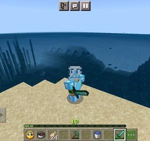 海底神殿内部探索 その2