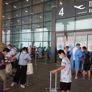 ハルビンから上海に コロナ対策厳しい