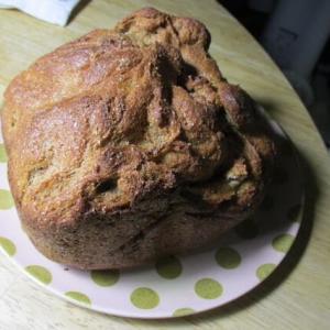 大豆粉とふすまで食パン焼きました