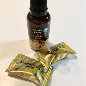 冬の風邪予防に「24 organic days マヌカ&プロポリス スプレー」を購入しました