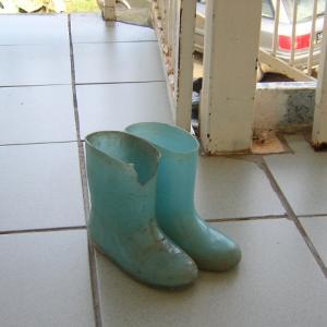 長靴の思い出。