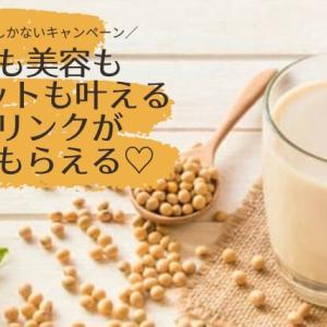 【半年に一度!】+12円でもう1セット豆乳が貰えるキャンペーン