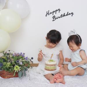 週末のイベント 息子 1歳の誕生日♬