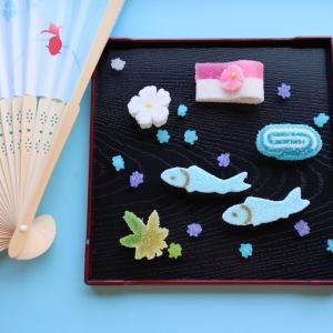 《お菓子とデザイン》【本家菊屋】「金魚の干菓子」のパッケージ♬
