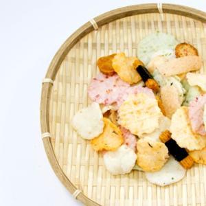 《お菓子とデザイン》【HIMAWARI Bijin(ひまわりびじん)】「グルテンフリー おせんべい 6種 詰め合わせ みんなのおかき」のパッケージ♬