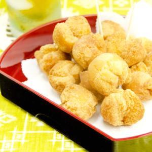 《お菓子とデザイン》【あんだぎや】「奄美大島サーターアンダギー/andagi-」のパッケージ♬