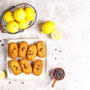 《お菓子とデザイン》【京都北山マールブランシュ(MARE BRANCHE)】「らららマドレーヌ」のパッケージ♬