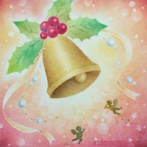 クリスマスアート2020:喜びのベル☆