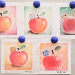 11月JEUGIAカルチャー教室:りんごと仔猫
