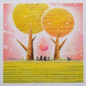 一目惚れ💗2020年の協会アート『人を愛すること』