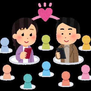 マッチングアプリ(進行状況(継続中&終了)