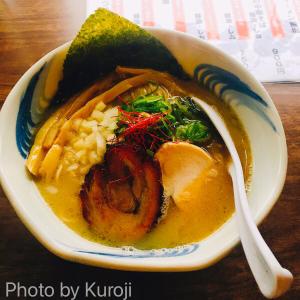 札幌中の島「我流麺舞 飛燕(ひえん)」魚介鶏塩白湯がめちゃおいしいラーメン