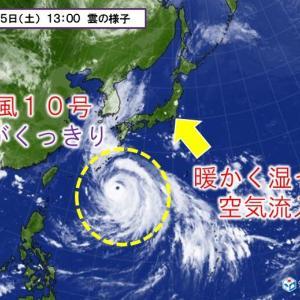 台風10号が大型で非常に強い勢力に。その後の進路はどう変わる?台風対策は万全?