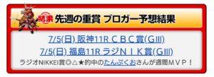 ◎バビット1着!!ラジオNIKKEI賞のレース回顧