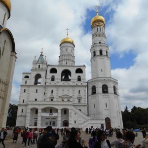 【ロシア】⑱クレムリン(4)〜聖堂広場の建造物群