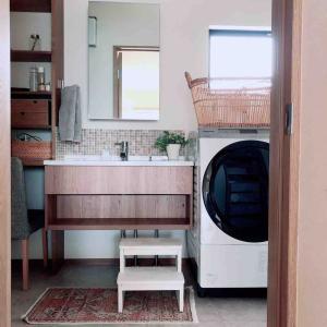 入居後洗面所、感想
