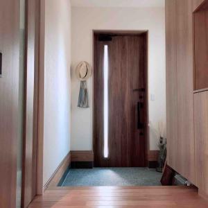 入居後玄関、感想 すっきり暮らしやすい工夫♩