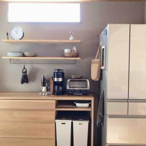 入居後キッチン、感想 オープンキッチンにして良かった!