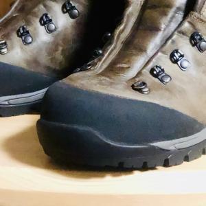 #042 登山靴のソール張り替え日誌 x2