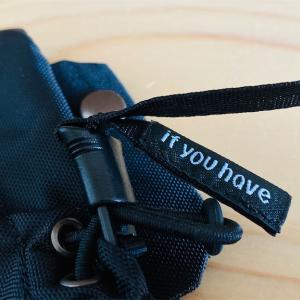 #052 ifyouhave / Shoulder Bottle Pocket を購入!
