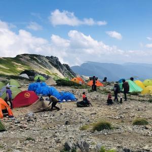#055 テン泊 x 縦走に向け、山用テントについて検討してみた
