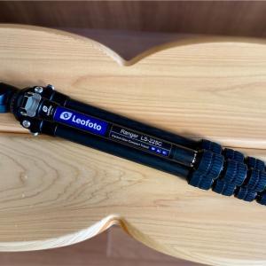 【カメラ】【山道具】軽量コンパクトなトラベル三脚 Leofoto LS-225C+LH-25 を購入!