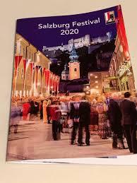 ザルツブルク音楽祭2020開催!(既に終わっていますが)
