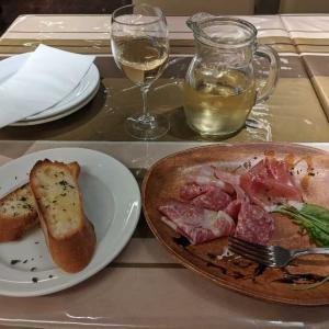 一人飯イタリアン(情けねぇ)