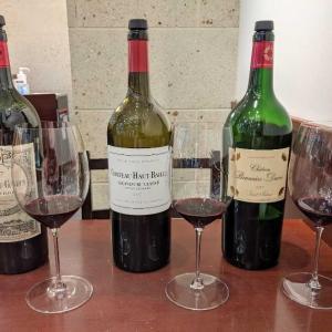 ボルドーワインの試飲会