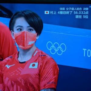 やっぱり東京五輪をTV観戦してしまいました。
