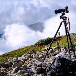 三脚と雲台のネジは定期的に点検を。