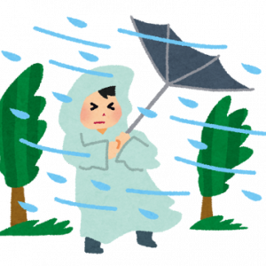 【悲報】台風12号ちゃん、クソザコどころか近寄りもしない・・・