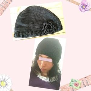 骨格診断ウエーブに似合う綿100%のニット帽