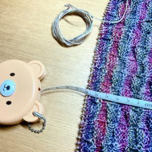 今日の進捗と、「どこにもない編み物研究室」。