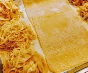お家で簡単もちもちフェットチーネの作り方・レシピ