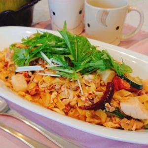 お家で簡単イタリアン!魚介のラグーソースパスタの作り方・レシピ