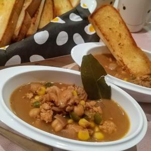 🐭ひよこ豆とチキンのエスニック風カレーの簡単作り方・レシピ🐭