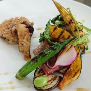 🐭カリカリ松茸ごはんと牛肉ミスジのグリルの簡単作り方・レシピ🐭