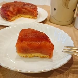 秋の味覚!りんごぎっしりタルトタタンの作り方🐰