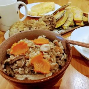 🐭食欲の秋!!キノコと鶏肉の炊き込みご飯の簡単作り方・レシピ